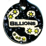 """Billions"" Necklace Pendant"