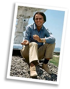 Carl Sagan at the VLA