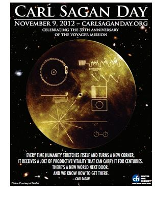 Carl Sagan Day Poster 2012