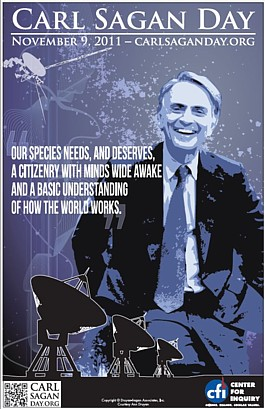 Carl Sagan Day Poster 2011