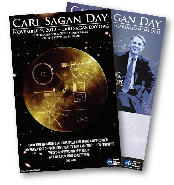 Carl Sagan Day Posters