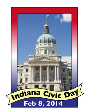 Indiana Civic Day - Feb 8, 2014