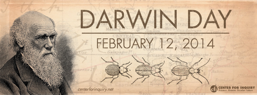Darwin Day Facebook Cover Image 2014