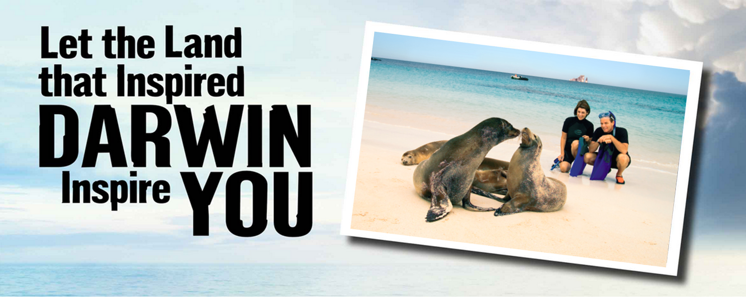 Let the land that inspired Darwin inspire you!