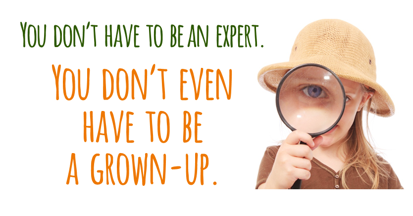 Camp Inquiry: You don't have to be an expert-or even a grown-up!