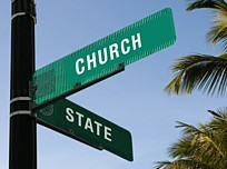 Church State Separation Sign