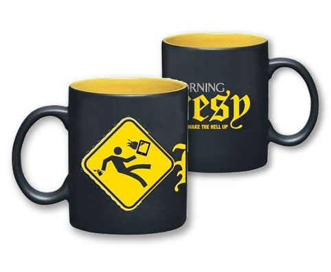 The Morning Heresy Mug from CFI