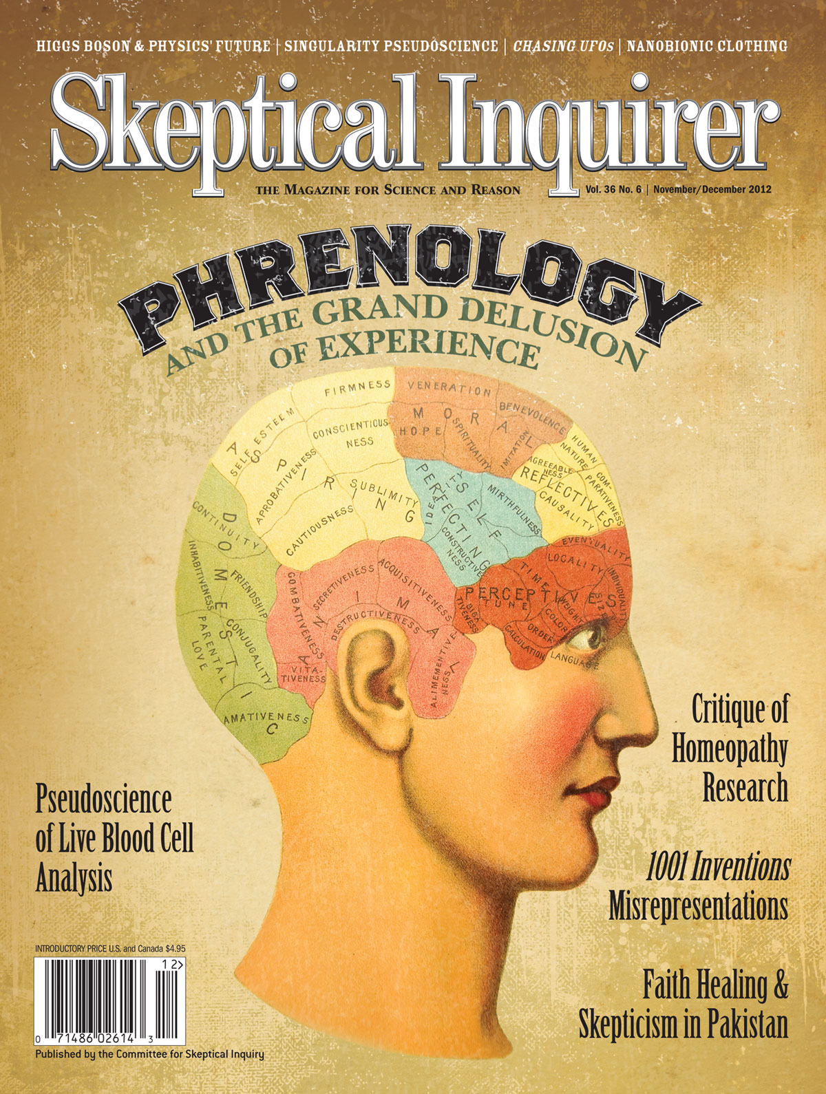 phrenology si skeptical inquirer