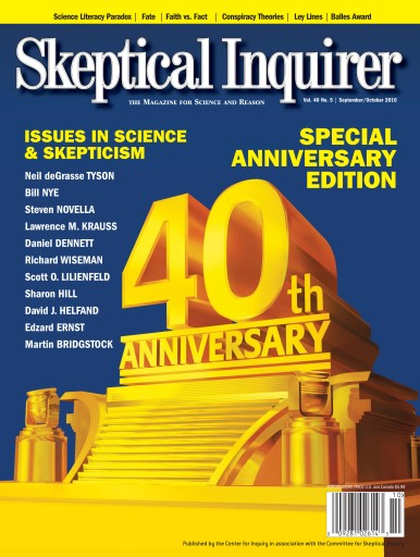 Skeptical Inquirer 40th Anniversary