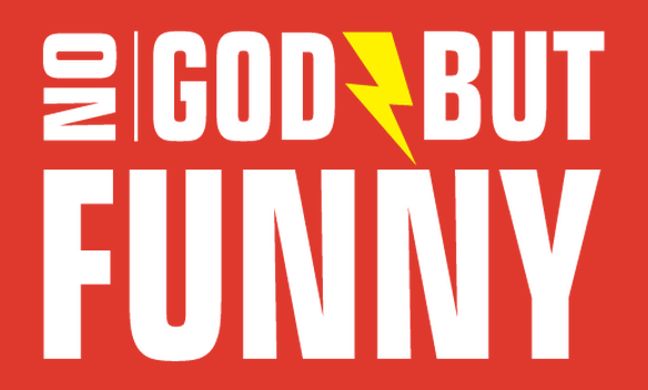 no god but funny logo