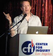 Sean Carroll at podium.jpg